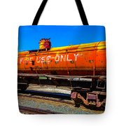 Fire Fighting Tanker Tote Bag