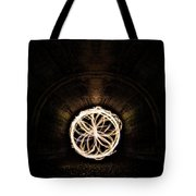 Fire Flower Tunnel Tote Bag