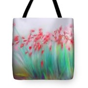 Fire-flowers-spring Tote Bag