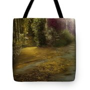 Fire Fly Trail Tote Bag