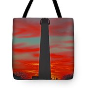Fire Frames The Lighthouse Tote Bag