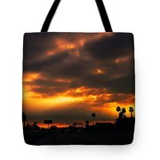 Fire From The North Tote Bag