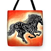 Fire Horse 1 Tote Bag