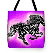 Fire Horse 7 Tote Bag