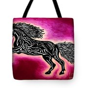 Fire Horse Blaze 4 Tote Bag