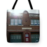 Fire House Tote Bag