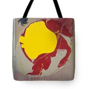 Fire Hydrant Crab Rocket Tote Bag