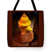 Humor At The Hydrant, Bray, Ireland Tote Bag