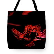 Fire In Abstract Tote Bag