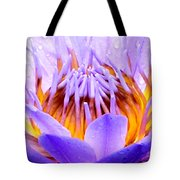 Fire In The Lily Tote Bag