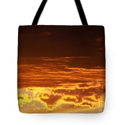 Fire In The Sky 2 Tote Bag
