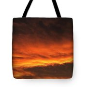 Fire In The Sky Two Tote Bag