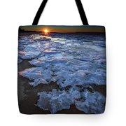 Fire Island Winter Tote Bag