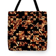 Fire Jumble Tote Bag