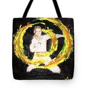 Fire Man Tote Bag