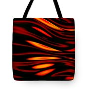 Fire Meets Water Tote Bag