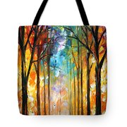 Fire Night Tote Bag