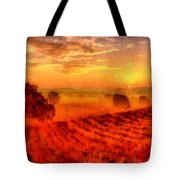 Fire Of A New Day Tote Bag