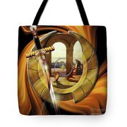 Fire Of Glory Tote Bag