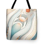 Fire Of Inspiration Tote Bag