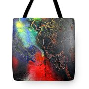 Fire Of Passion Tote Bag