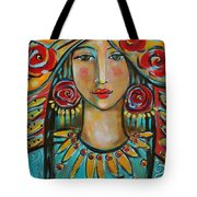 Fire Of The Spirit Tote Bag