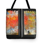 Fire On The Prairie Tote Bag