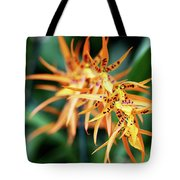 Fire Orchid Tote Bag