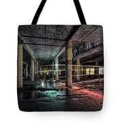 Fire Over Ice Tote Bag