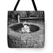 Fire-pit Tote Bag