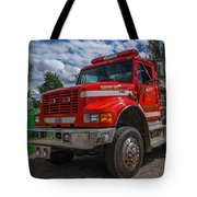 Fire Rescue Tote Bag