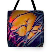 Fire Ring Sunset Tote Bag