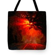 Fire Road Tote Bag