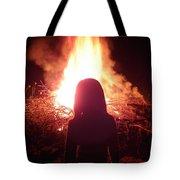 Fire Starter Tote Bag
