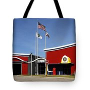 Fire Station Disney Style Tote Bag