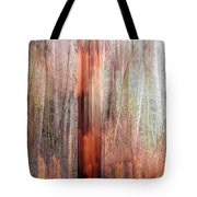 Fire Study 6, Beauty Destroyed Tote Bag
