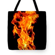 Fire The 3rd Element Michigan Tote Bag