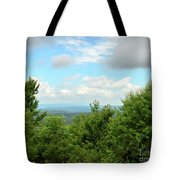 Fire Tower View - Pipestem State Park Tote Bag