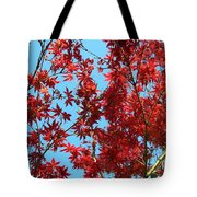 Fire Tree II Tote Bag