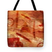 Fire Triangle Tote Bag