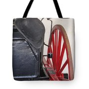 Fire Wagon Tote Bag