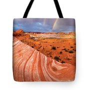 Fire Wave Covenant Tote Bag