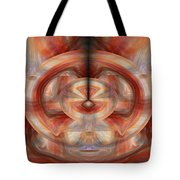 Fire Wheel Tote Bag