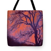 Fire Willow Tote Bag