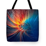 Fire Wind Tote Bag
