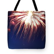Fire Work Folly Tote Bag