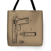 Firearm Handgun Tote Bag