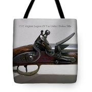 Firearms 1792 Virginia Legion Of The United States Rifle Tote Bag