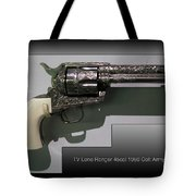 Firearms Tv Lone Ranger 45cal 1960 Colt Army Revolver Tote Bag