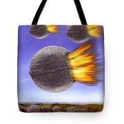 Fireballs Tote Bag